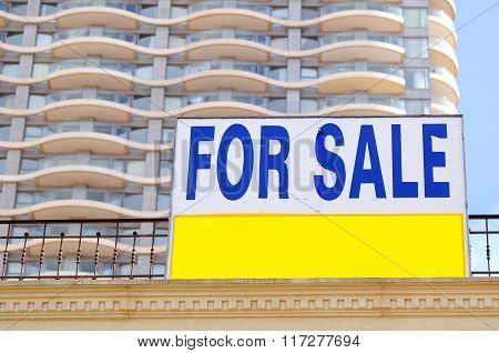 New appartment sale.