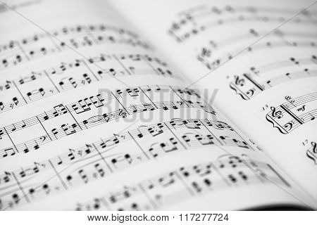 Sheet Music Background