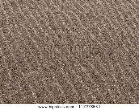 Beach sand pattern