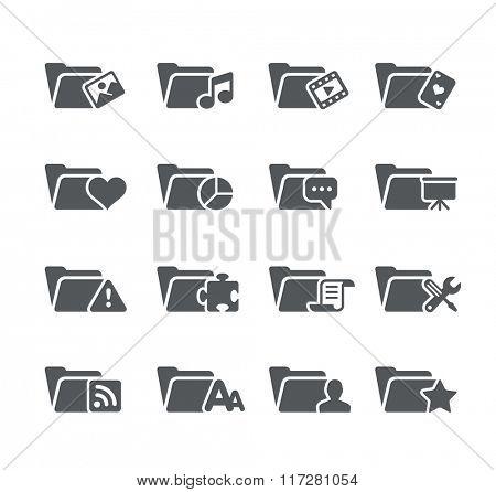 Folder Icons - 2 // Utility Series