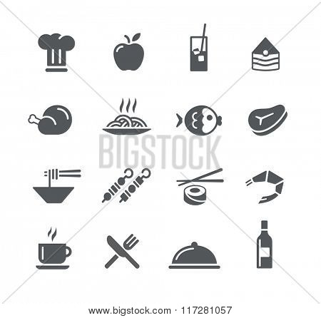 Food Icons - 2 // Utility Series