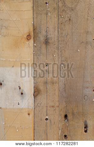 Pallet Wood Plank Texture Old Grey Brown With Nail Holes