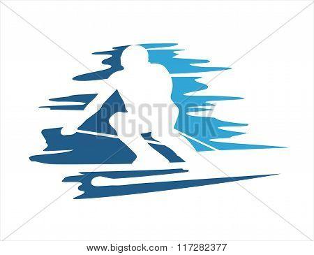 ski abstract