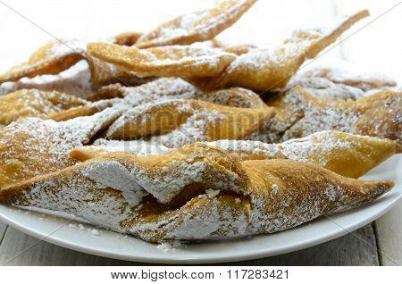 Funnel Cake, Faworki..
