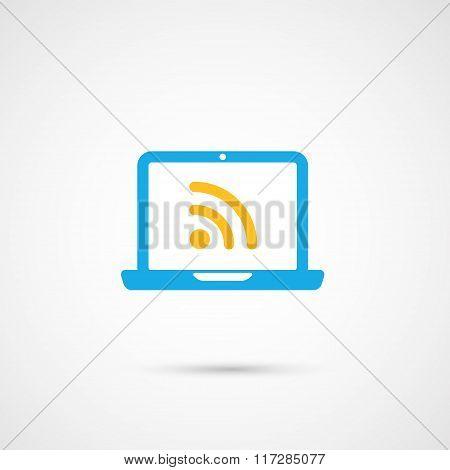 Vector Media Icon - Notebook