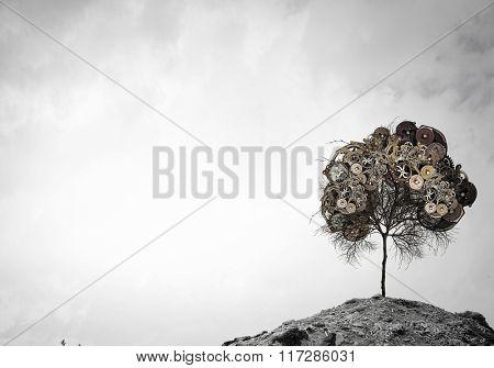 Tree of gears elements