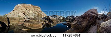 Barker Dam Panorama