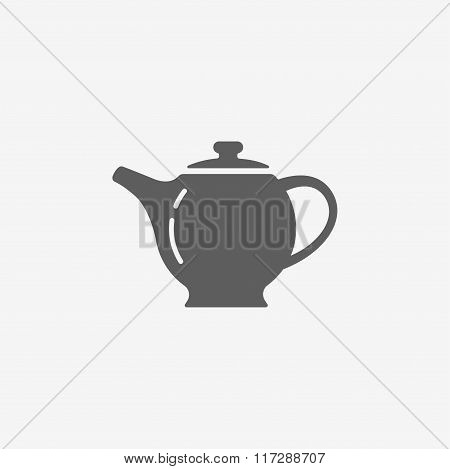 The teapot icon. Tea symbol