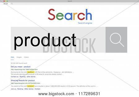 Product Production Manufacturing Distribution Concept