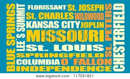 Missouri State Cities List