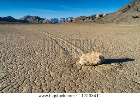 The Racetrack Playa, Death Valley, CA