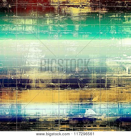 Vintage spotted textured background. With different color patterns: yellow (beige); brown; white; blue; green