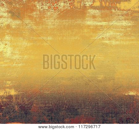 Old abstract texture with grunge stains. With different color patterns: yellow (beige); brown; red (orange); gray; purple (violet)