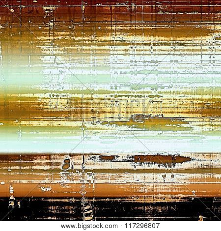 Highly detailed grunge texture or background. With different color patterns: yellow (beige); brown; white; cyan; black