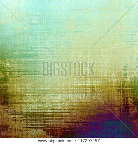 Antique grunge background with space for text or image. With different color patterns: yellow (beige); white; blue; green; purple (violet)