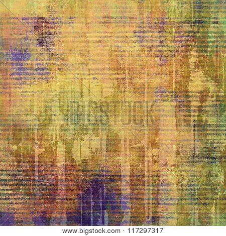 Abstract rough grunge background, colorful texture. With different color patterns: yellow (beige); brown; red (orange); green; purple (violet)