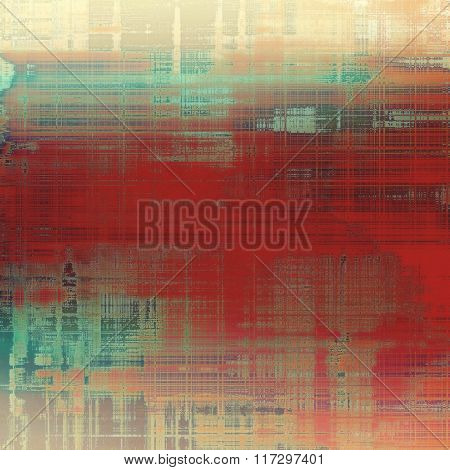 Old grunge textured background. With different color patterns: yellow (beige); brown; red (orange); blue; pink