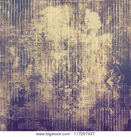 Vintage spotted textured background. With different color patterns: yellow (beige); brown; gray; purple (violet)