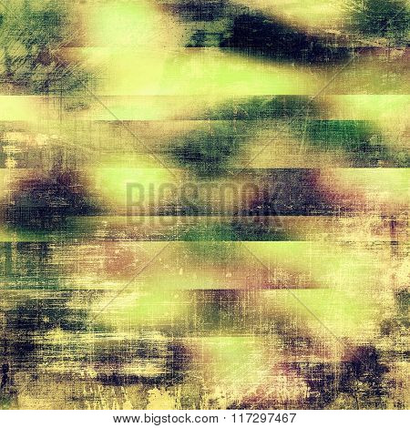 Grunge, vintage old background. With different color patterns: yellow (beige); brown; green; gray; purple (violet)