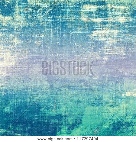Vintage Template. With different color patterns: white; blue; cyan; pink; purple (violet)