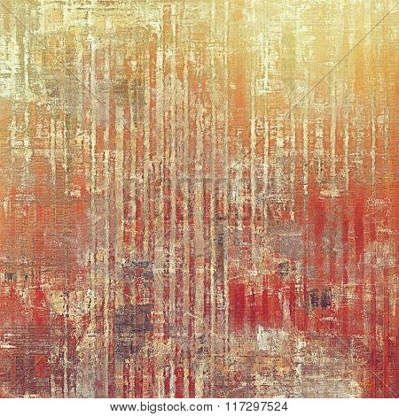 Grunge texture, may be used as retro-style background. With different color patterns: yellow (beige); brown; red (orange); gray