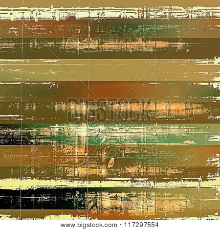 Beautiful vintage background. With different color patterns: yellow (beige); brown; white; green; black