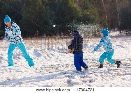 Winter's for family fun