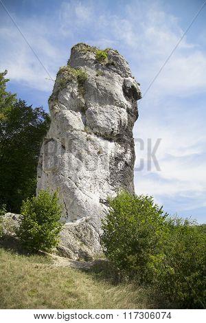 Cudgel Of Hercules ( Maczuga Herkulesa) In Pieskowa Skala In Poland