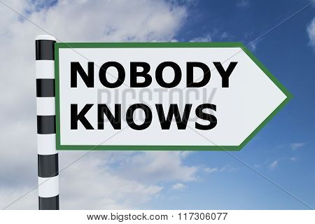 Nobody Knows Concept