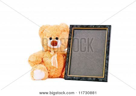Frame Brown Bear