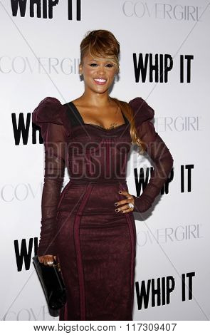 Eve at the Los Angeles Premiere of
