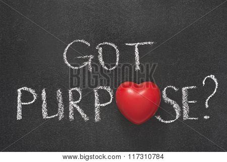 Got Purpose Heart