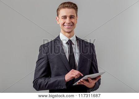Young Successful Businessman