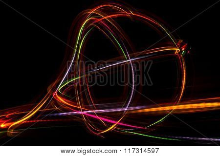 Blurred Abstract Line From Led Light.