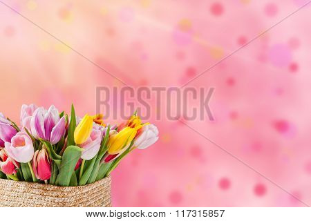 Postcard With Flowers
