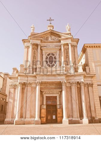Santa Cristina And San Carlo Church Vintage
