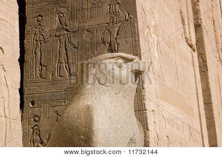 Horus Granite Statue