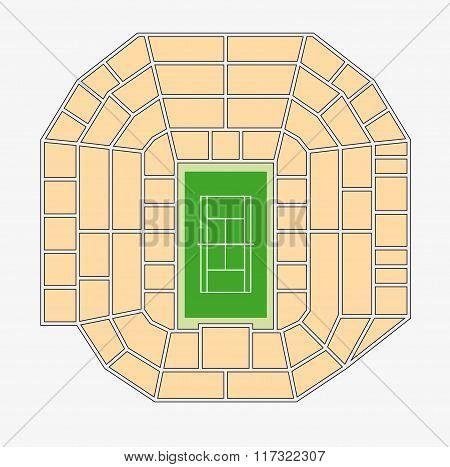 Wimbledon Centre Court Plan