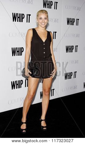 Kherington Payne at the Los Angeles Premiere of