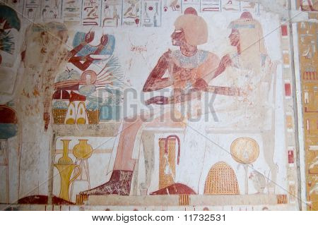 Ancient Egyptian scribe Userhat
