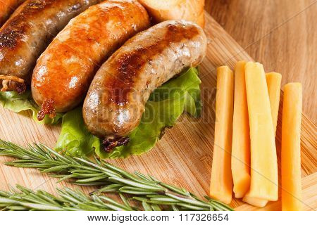Beer And Roast Beef Or Chicken Sausage