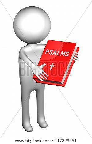 3D Man With Psalms