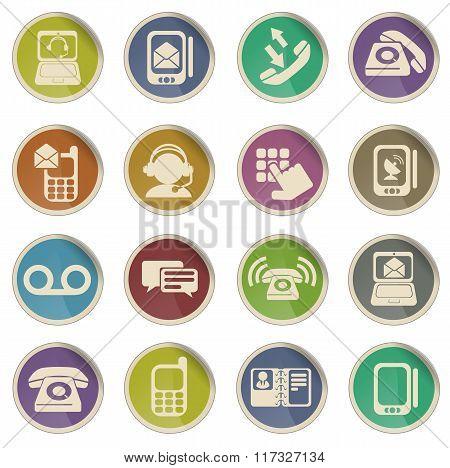 Telephone Icon Set