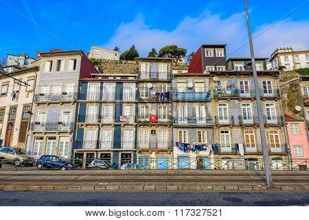 Cityscape Of Porto