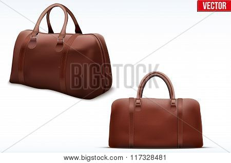 Classic Leather Bag Set