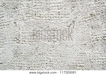 Background Of Old Cracked Painted Stone Wall With Cement