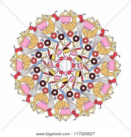 Sweets Mandala