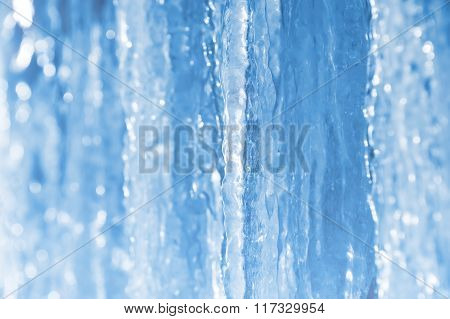 Abstract background of icicles