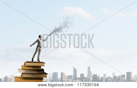Books let you rise above the rest