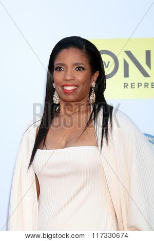 LOS ANGELES - FEB 5:  Areva Martin at the 47TH NAACP Image Awards Arrivals at the Pasadena Civic Auditorium on February 5, 2016 in Pasadena, CA